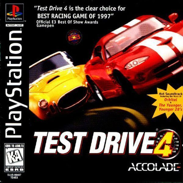 Test Drive 5 SLUS00610  PlaystationPSXPS1 ISOs ROM