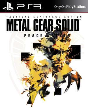 Metal Gear Solid Peace Walker Iso : metal, solid, peace, walker, Metal, Solid:, Peace, Walker, Edition, Download