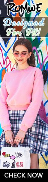 Romwe Fashion Sweatshirts