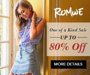 Romwe Fashion Blouses