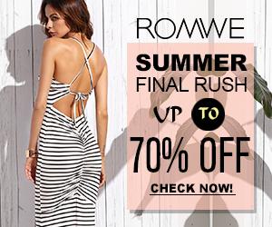 Romwe Maxi dress
