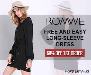 Romwe Long-Sleeve