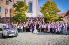 Gruppenaufname Hochzeit Hilpoltstein