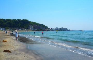 鎌倉・材木座海岸
