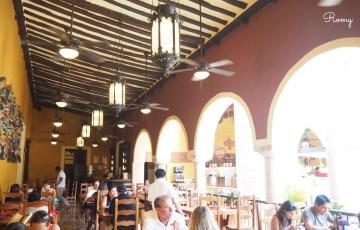 『チチェン・イッツァ』バスツアーで行ったレストラン