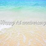 ブログ開設1周年