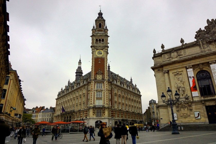 Place du Theatre Lille