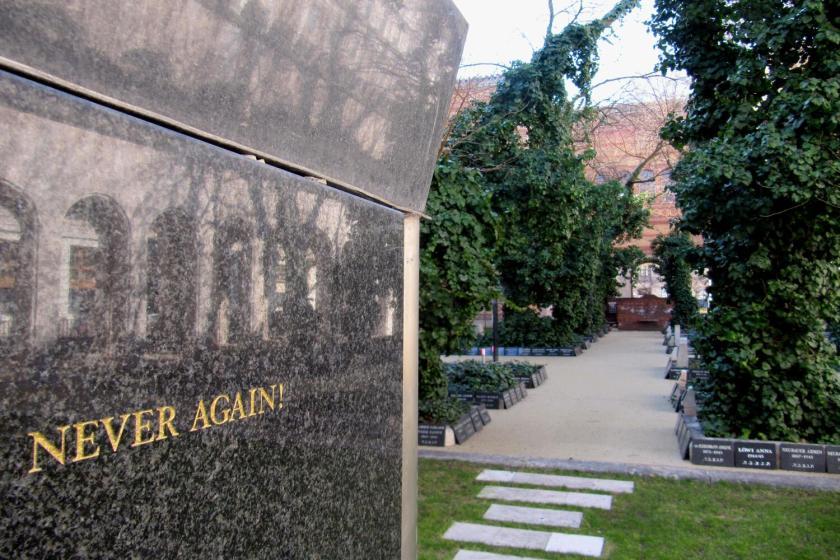 Herdenkingspark synagoge Boedapest