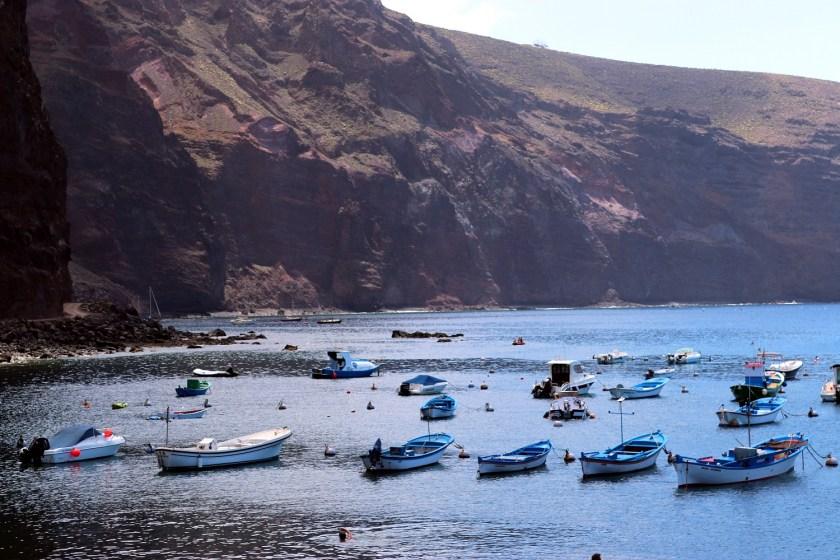 Strand in Valle Gran Rey op La Gomera