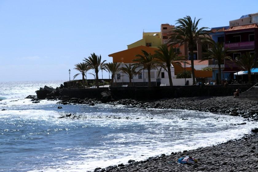 La Playa in Valle Gran Rey op La Gomera