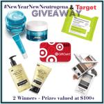 #NewYearNewNeutrogena & Target Giveaway ~ Neutrogena Products & a $25 Target Gift Card (2 Winners)