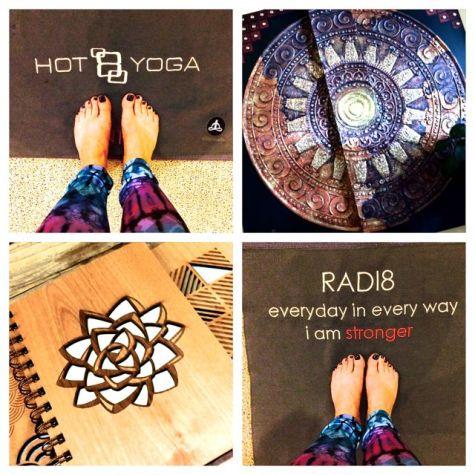 DTSM Hot 8 Yoga Collage