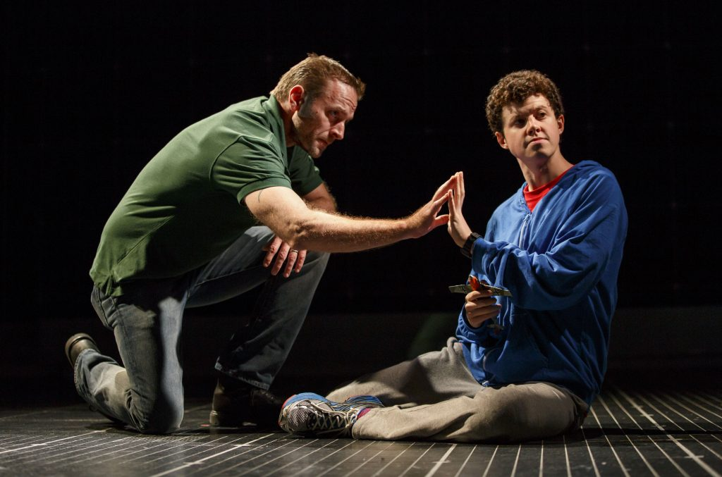 The Curious Incident of the Dog in the Night-Time at the Ahmanson in DTLA & it is a mesmerizing high tech journey into a chaotic mind
