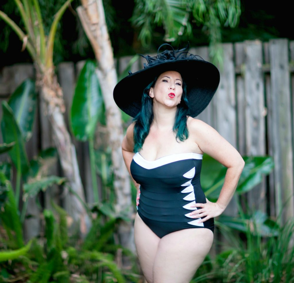 I've curated a fabulous selection of flattering and slimming bathing suits for women over 40