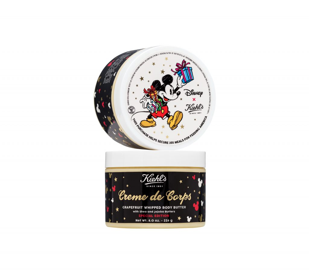 In honor of Thanksgiving, I've partnered with Kiehl's to giveaway 2 limited edition Disney gift sets which give 100% of the proceeds to Feeding America
