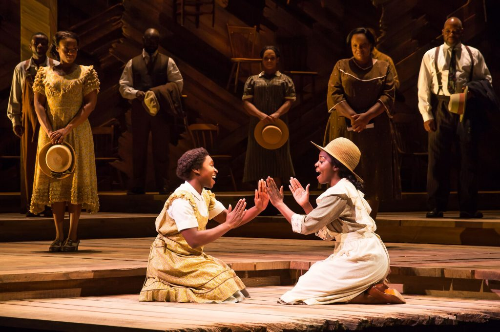 The Color Purple at the Hollywood Pantages Theatre brings to life Alice Walker's award winning emotionally riveting novel as well as the beloved hit motion picture.