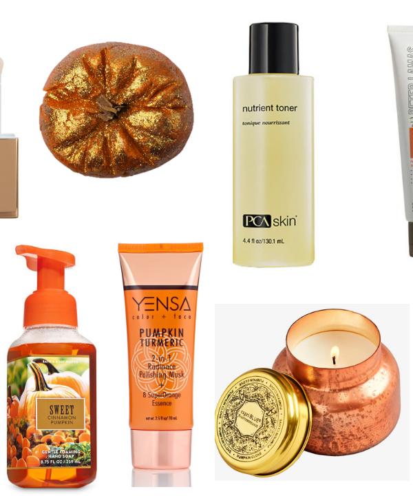 Every Fall, I become obsessed with all things pumpkin! Pumpkin Spice Lattes, my homemade pumpkin bread and pumpkin scented beauty products. These are my 10 favorites this season!