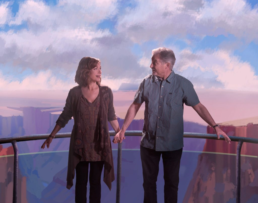 The Empty Nesters is humorous and realistic play about the challenges and frustrations that couples face after their kids fly the coop