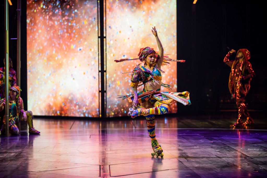 Cirque du Soleil VOLTA is a new high energy urban version of this beloved show, inspired by the adventurous spirit that fuels the culture of street sports
