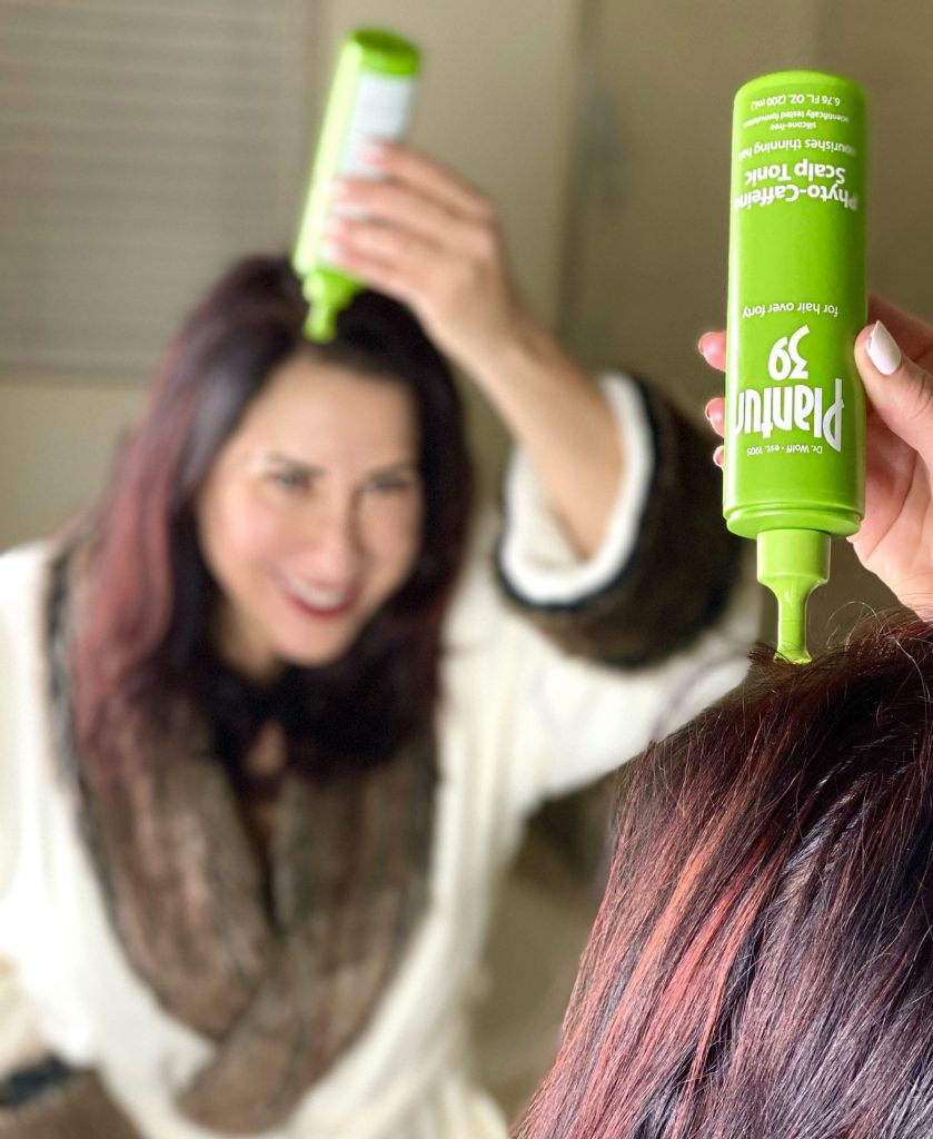 I'm excited to share Plantur 39 ~ innovative haircare products made with a caffeine complex that transforms thinning hair during menopause