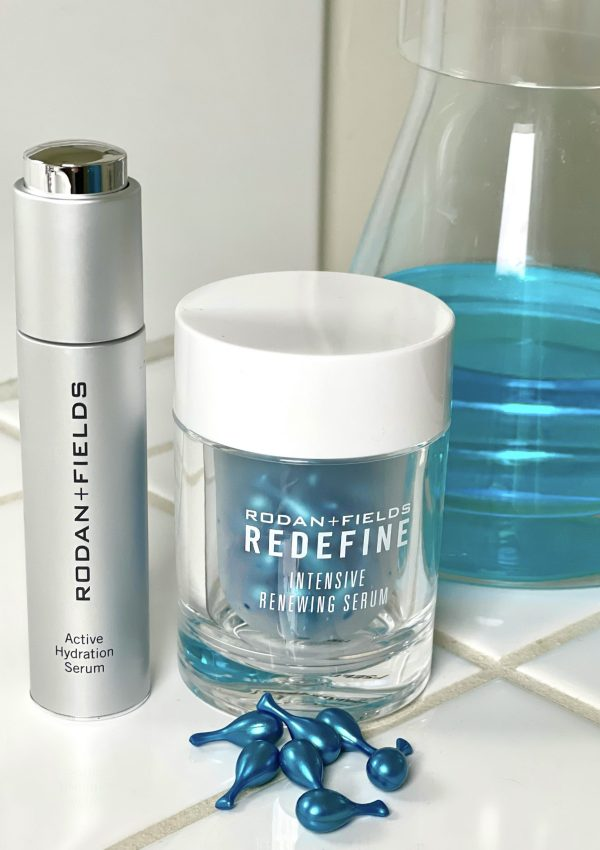I have been using two fabulous Rodan + Fields Serums for over a month and I am excited to share my visibly noticeable results