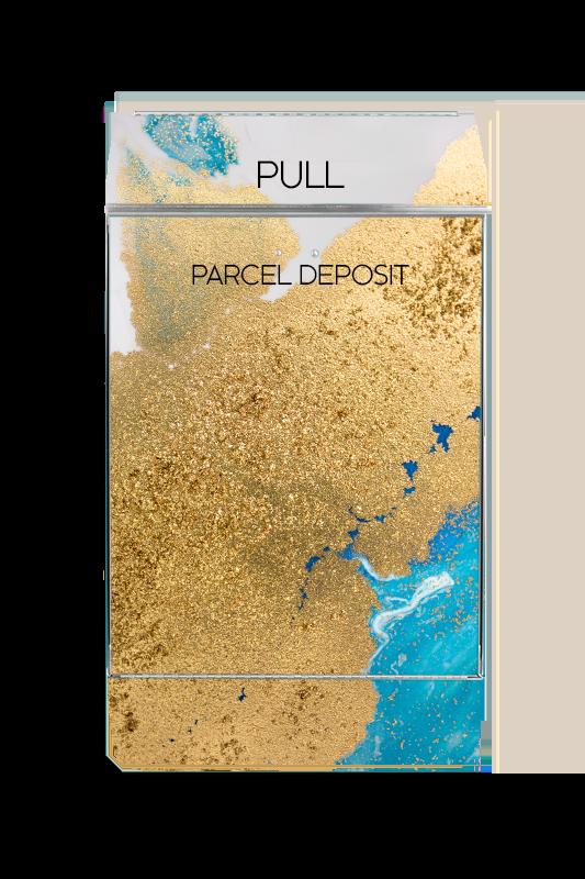 Mailbox Gold paint