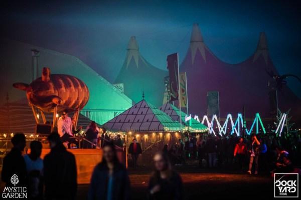 ZAPP, steampunk zeppelin, chill out corner, festivals, dockyard, mystic garden
