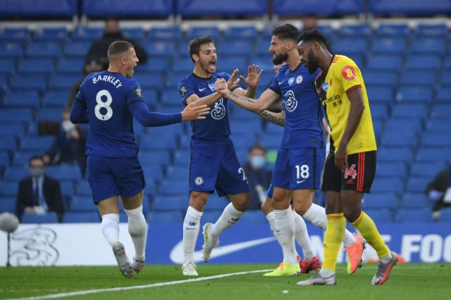 Giroud hails Barkley impact and big result for Chelsea