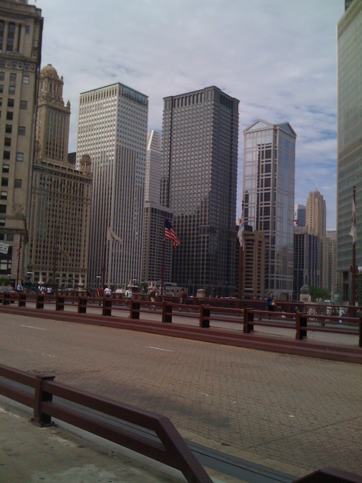 Chicago - A Canyon of Buildings