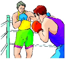 Boxing in face