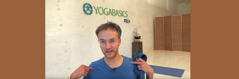 Silvio Fritzsche - ein Yoga Könner. Und er weiss: Yoga stärkt das Immunsystem.