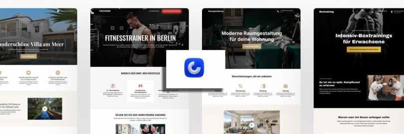 Mit OnePage lassen sich Landingpages bauen - und grosse Websites