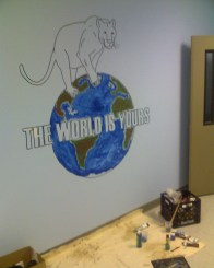 KIPP MURAL - THE WORLD IS YOURS BEFORE COMPLETION(MADE 2008)