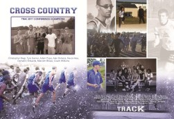YEARBOOK PAGE - 2012 - CROSS COUNTRY & TRACK
