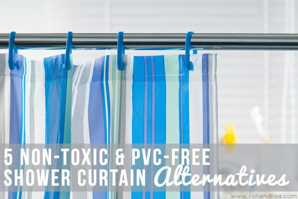 5 non toxic pvc free shower curtain