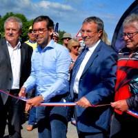 Inauguration de la voie vélo reliant le centre-ville de Ploemeur et Fort-Bloqué