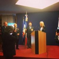 Remise de la légion d'honneur de mon amie Denise Guillaume, vice présidente du conseil général du Morbihan et surtout groisillone.