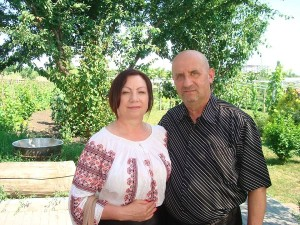 Alexandru Moraru si sotia sa Maria Botnaru