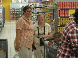Shopping at Divundu