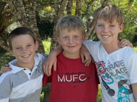 Travie, Jordy and Jamie