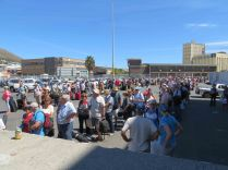 Queues in Cape Town