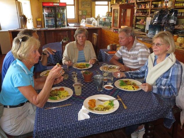 Lunch at van Brakel's