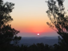 Sunset at Skilpad