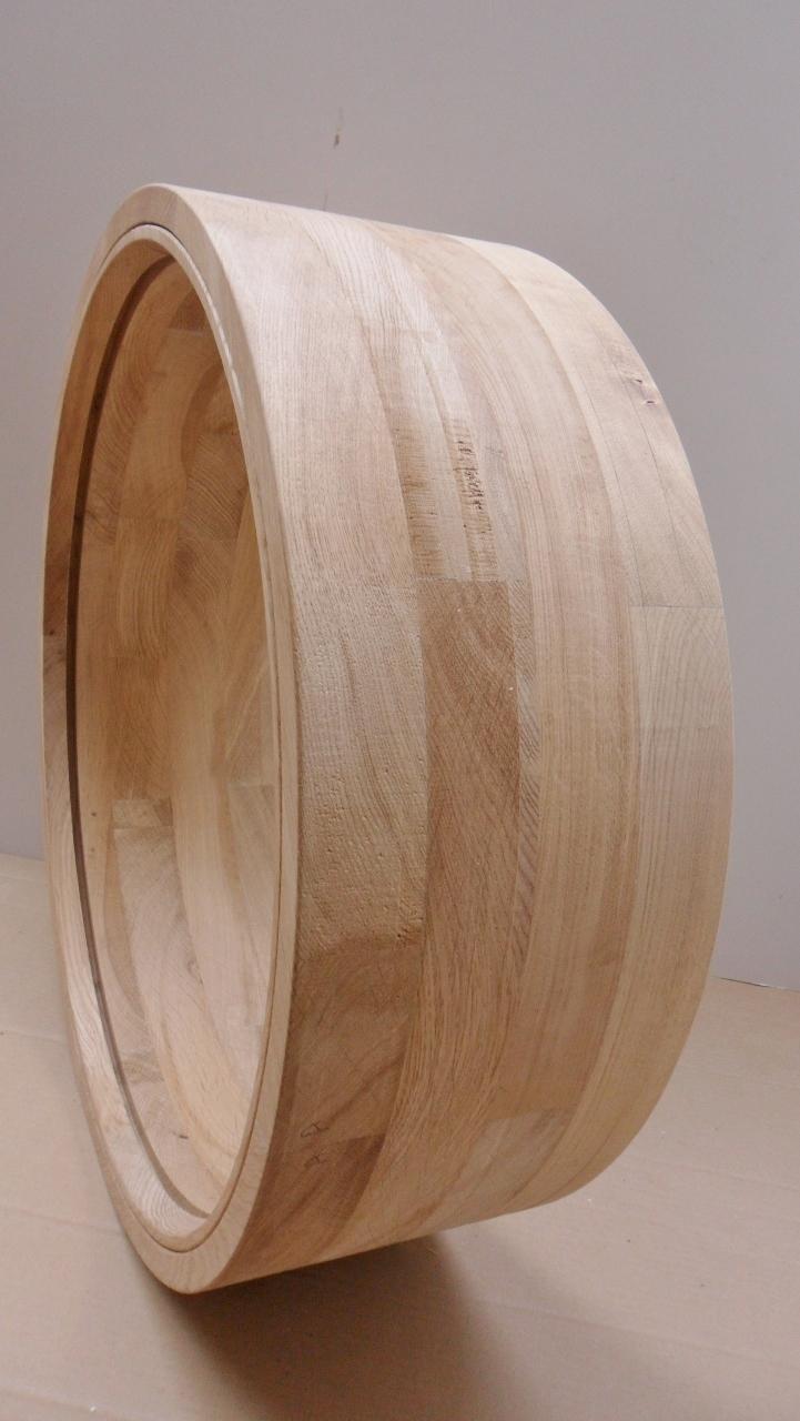 Extra Deep Oak Round Window Gallery