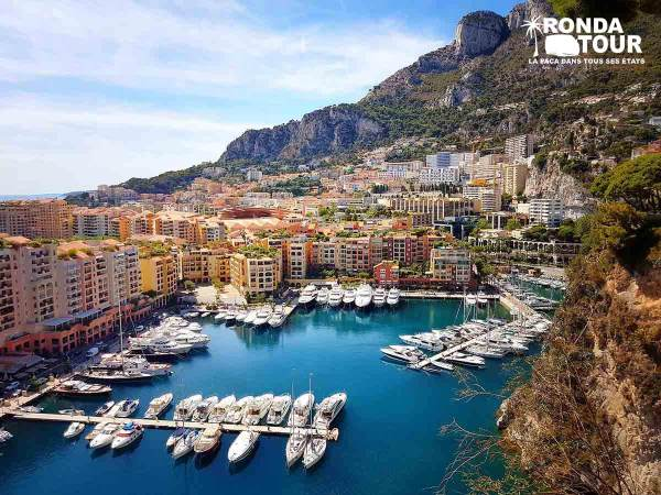 Monaco-Monte-Carlo-Port-Fontvieille-Private-Tour-Van-Excursions-Ronda-Tour-Cannes-Provence-French-Riviera-France
