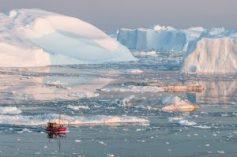 Reizen in Groenland