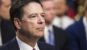 Former FBI Director James Comey testifies before Congress