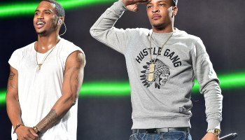 Trey Songz And Chris Brown In Concert - Atlanta, GA