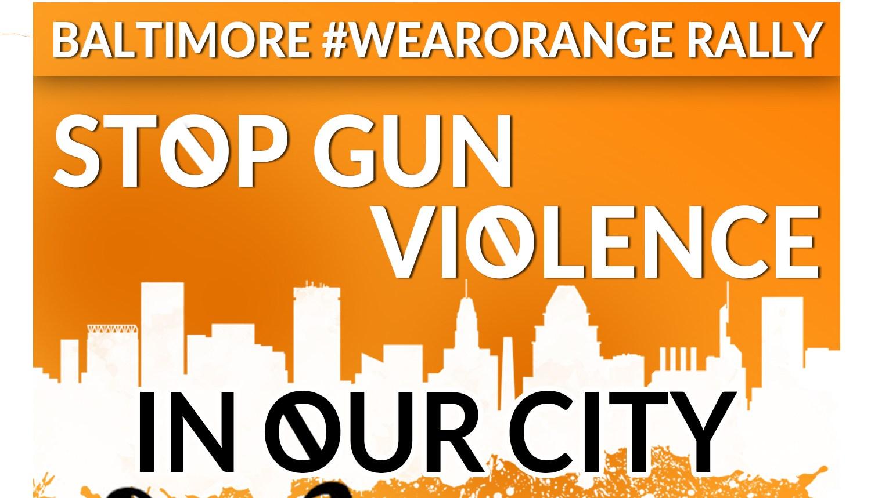 Gun Violence Awareness Day Rally in Baltimore