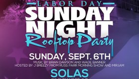 Sunday Night Labor Day Rooftop Party